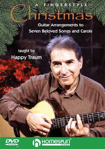 DVD-A Fingerstyle Christmas - Guitar Arrangements to Seven Beloved Songs and Carols