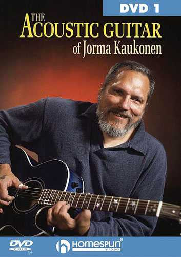 DVD-The Acoustic Guitar of Jorma Kaukonen: Vol. 1