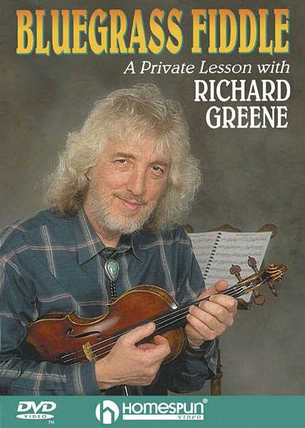 DVD - Bluegrass Fiddle: A Private Lesson with Richard Greene