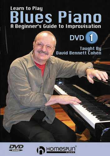 DVD - Learn to Play Blues Piano: Vol. 1-A Beginner's Guide to Improvisation