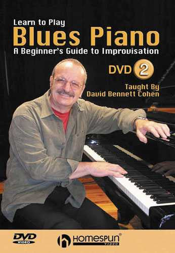 DVD - Learn to Play Blues Piano: Vol. 2-A Beginner's Guide to Improvisation