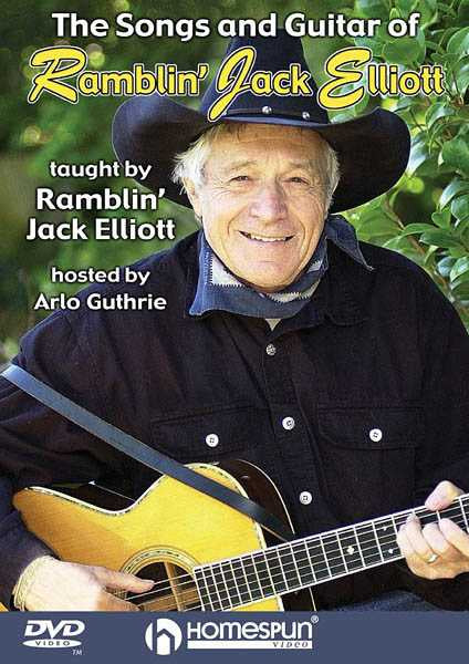 DVD-The Songs and Guitar of Ramblin' Jack Elliott