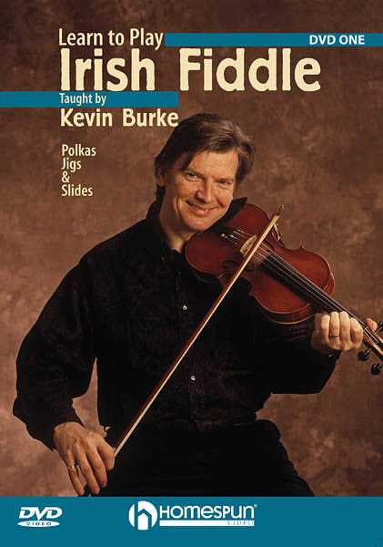DVD - Learn to Play Irish Fiddle: Vol. 1 - Polkas, Jigs and Slides