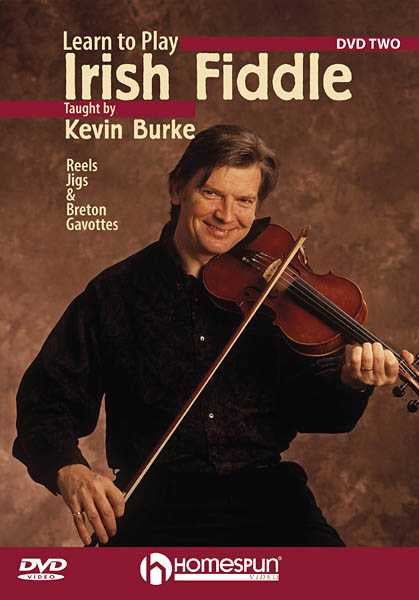 DVD - Learn to Play Irish Fiddle: Vol. 2 - Reels, Jigs, and Breton Gavottes