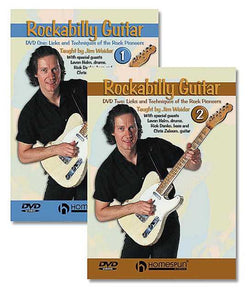 DVD - Rockabilly Guitar: Two DVD Set - Licks & Techniques of the Rock Pioneers