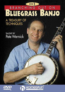 DVD - Branching Out On Bluegrass Banjo: Vol. 1-A Treasury of Techniques