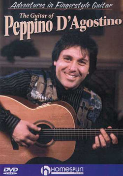 DVD-The Guitar of Peppino D'Agostino - Adventures in Fingerstyle Guitar
