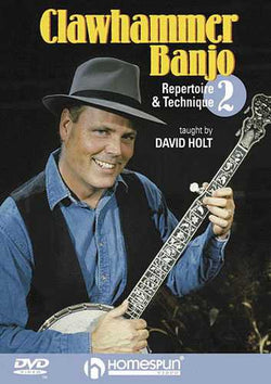 DVD - Clawhammer Banjo - Repertoire and Technique: Vol. 2