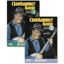 DVD - Clawhammer Banjo - Repertoire and Technique: Two DVD Set