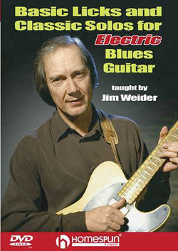 DVD - Basic Licks and Classic Solos for Electric Blues Guitar