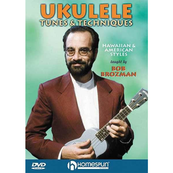 DVD - Ukulele Tunes & Techniques - Hawaiian and American Styles
