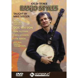 DVD - Old-Time Banjo Styles