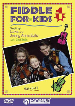 DVD - Fiddle for Kids: Vol. 1
