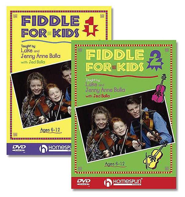DVD - Fiddle for Kids: Two DVD Set