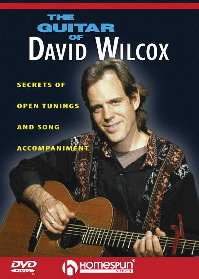 DVD-The Guitar of David Wilcox: Secrets of Open Tunings and Song Accompaniment