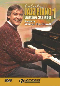 DVD - You Can Play Jazz Piano: Vol. 1 - Getting Started