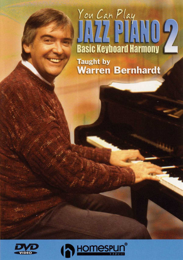 DVD - You Can Play Jazz Piano: Vol. 2 - Basic Keyboard Harmony