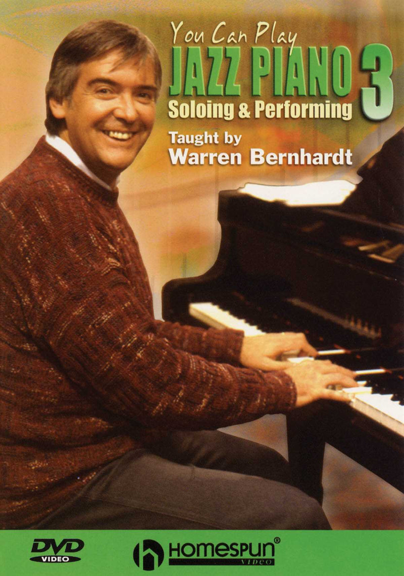 DVD - You Can Play Jazz Piano: Vol. 3 - Soloing and Performing