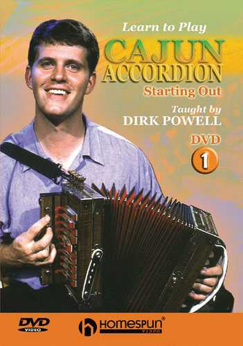 DVD - Learn to Play Cajun Accordion: Vol. 1 - Starting Out