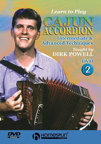 DVD - Learn to Play Cajun Accordion: Vol. 2 - Intermediate & Advanced Techniques