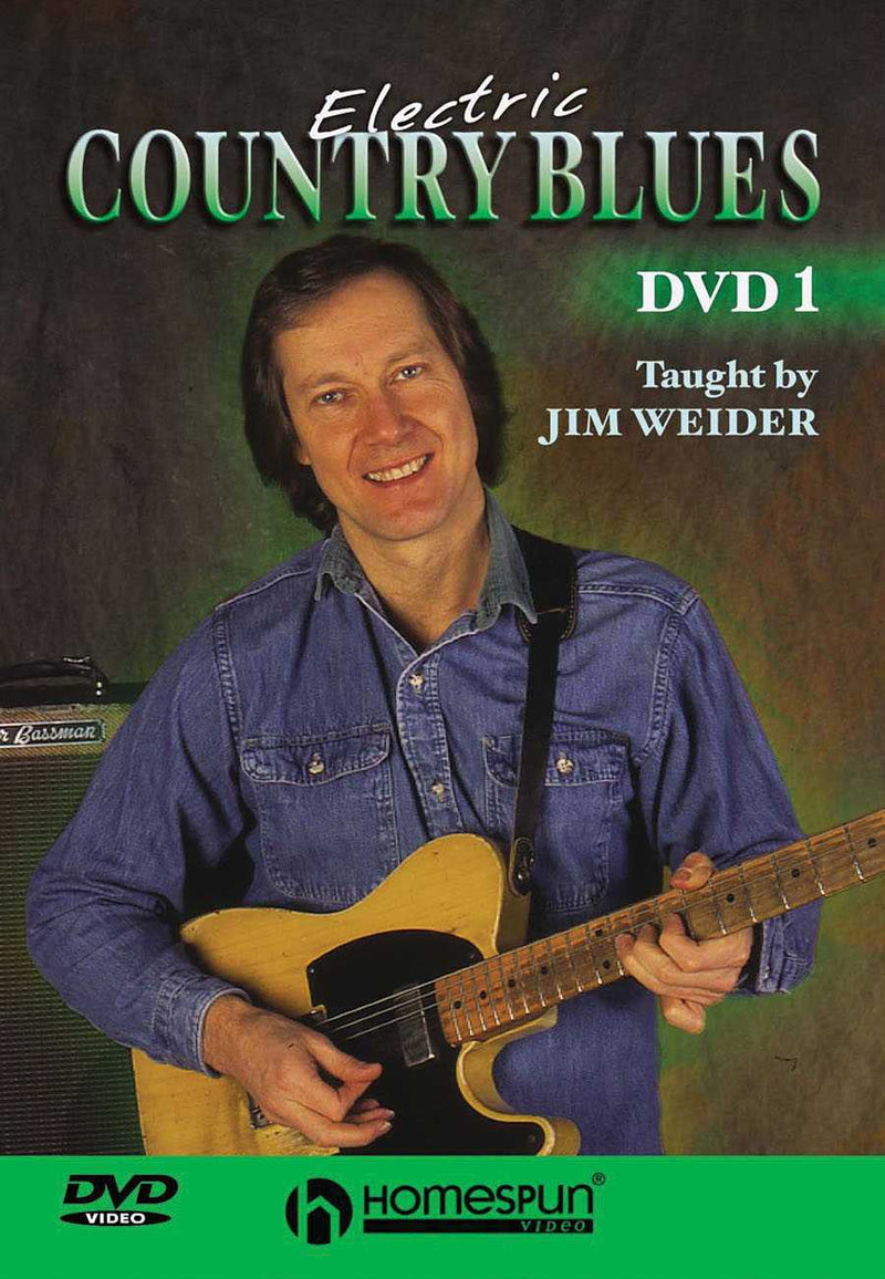 DVD - Electric Country Blues: Vol. 1