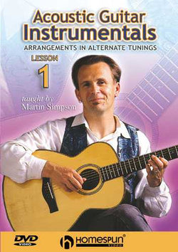 DVD - Acoustic Guitar Instrumentals: Vol. 1 - Arrangements in Alternate Tunings