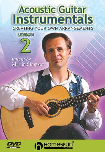 DVD - Acoustic Guitar Instrumentals: Vol. 2 - Creating Your Own Arrangments