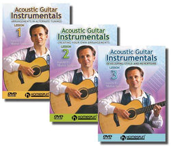 DVD - Acoustic Guitar Instrumentals: Three DVD Set