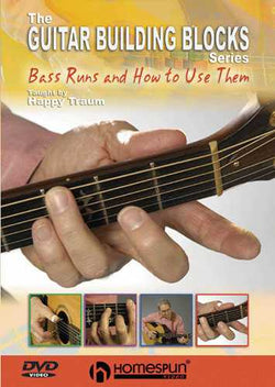 DVD - Happy Traum's Guitar Building Blocks: Vol. 2 - Bass Runs and How to Use Them