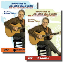 DVD - Easy Steps to Acoustic Blues Guitar: Two DVD Set