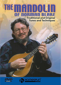 DVD-The Mandolin of Norman Blake - Traditional and Original Tunes and Techniques