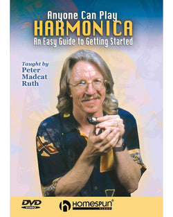DIGITAL DOWNLOAD ONLY - Anyone Can Play Harmonica-An Easy Guide to Getting Started