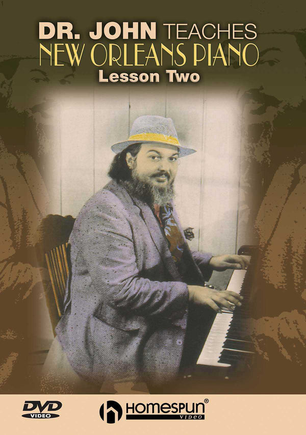 DVD - Dr.John Teaches New Orleans Piano: Vol. 2