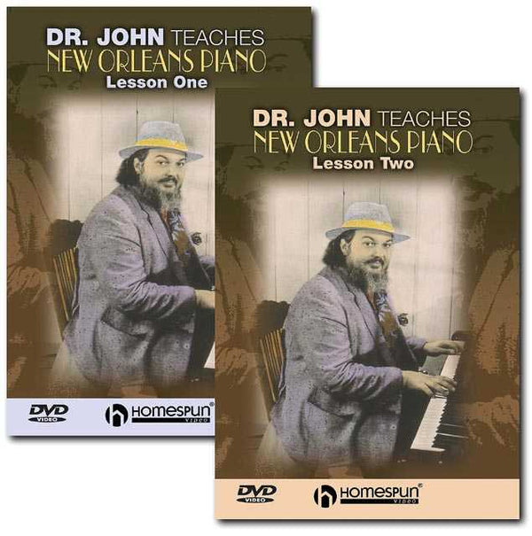 DVD - Dr.John Teaches New Orleans Piano: Two DVD Set