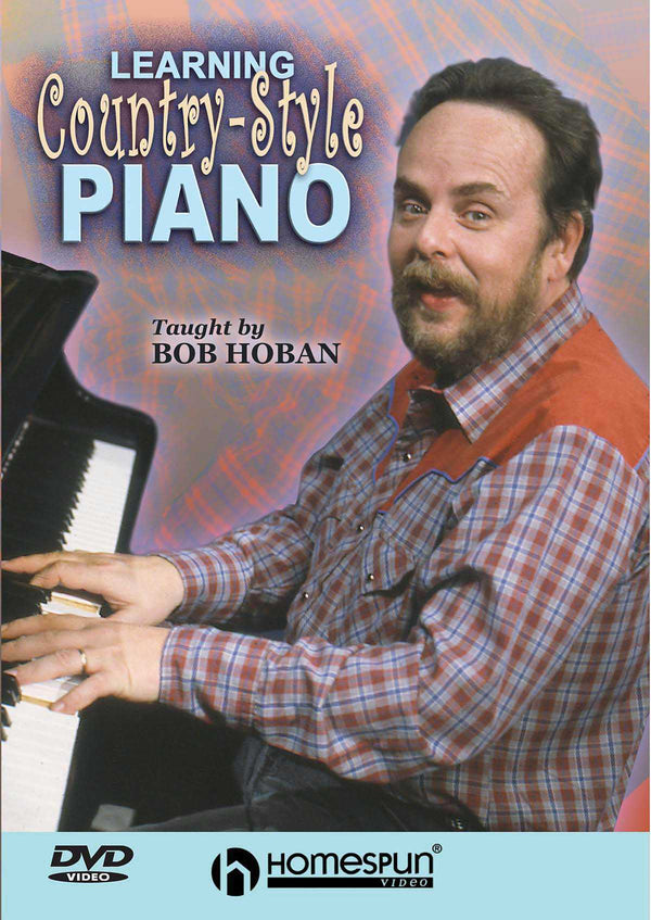 DVD - Learning Country Style Piano