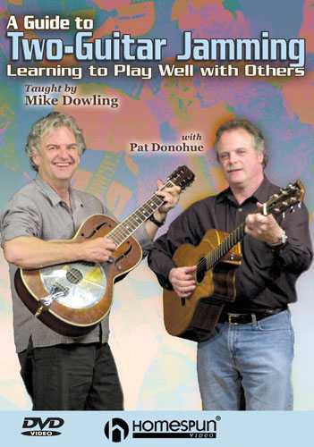 DVD-A Guide to Two-Guitar Jamming - Learning to Play Well with Others