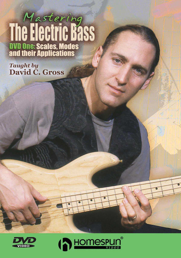 DIGITAL DOWNLOAD ONLY - Mastering the Electric Bass: Vol. 1 - Scales, Modes and Their Applications