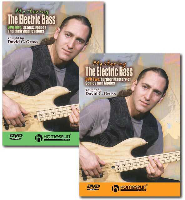 DIGITAL DOWNLOAD ONLY - Mastering the Electric Bass: Two DVD Set