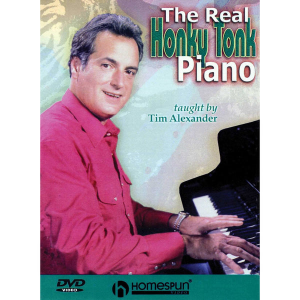 DVD-The Real Honky Tonk Piano