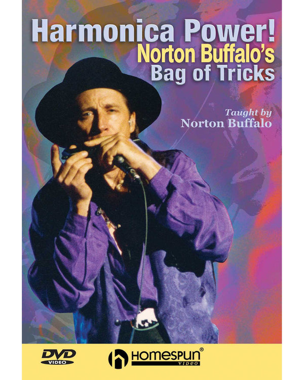 DIGITAL DOWNLOAD ONLY  - Harmonica Power!: Vol. 1 - Norton Buffalo's Bag of Tricks