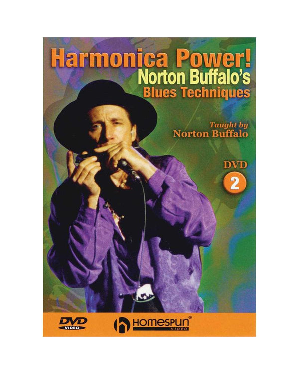 DIGITAL DOWNLOAD ONLY - Harmonica Power!: Vol. 2 - Norton Buffalo's Blues Techniques