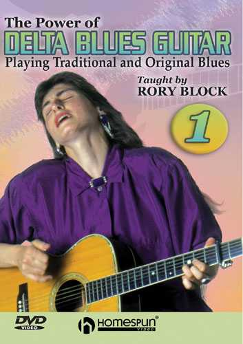 DVD-The Power of Delta Blues Guitar: Vol. 1