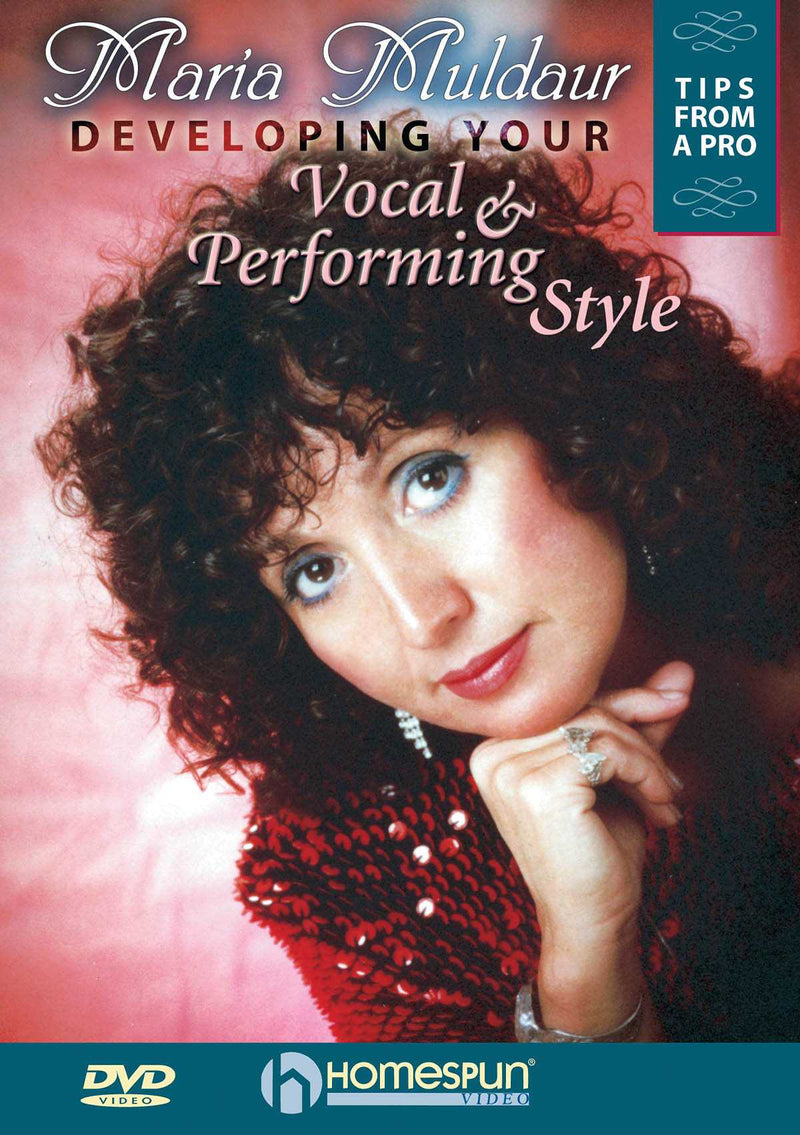 DVD - Developing Your Vocal & Performing Style: Tips From a Pro