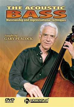 DVD-The Acoustic Bass - Musicianship and Improvisational Techniques
