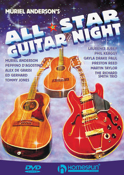 DVD - Muriel Anderson's All Star Guitar Night