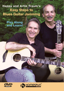 DVD - Happy and Artie Traum's Easy Steps to Blues Guitar Jamming: Vol. 1