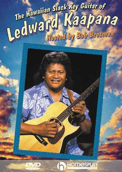 DVD-The Hawaiian Slack Key Guitar of Ledward Kaapana
