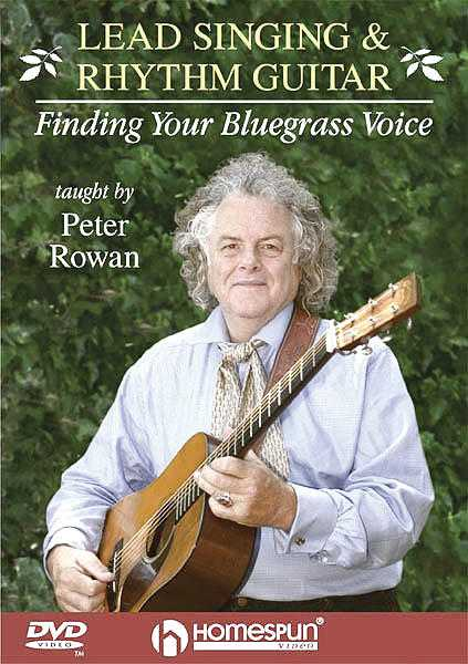 DVD - Lead Singing and Rhythm Guitar - Finding Your Bluegrass Voice