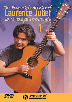 DVD-The Fingerstyle Artistry of Laurence Juber: Vol. 1 - Tunes & Techniques in Standard Tuning