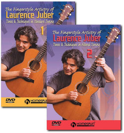 DVD-The Fingerstyle Artistry of Laurence Juber: Two DVD Set